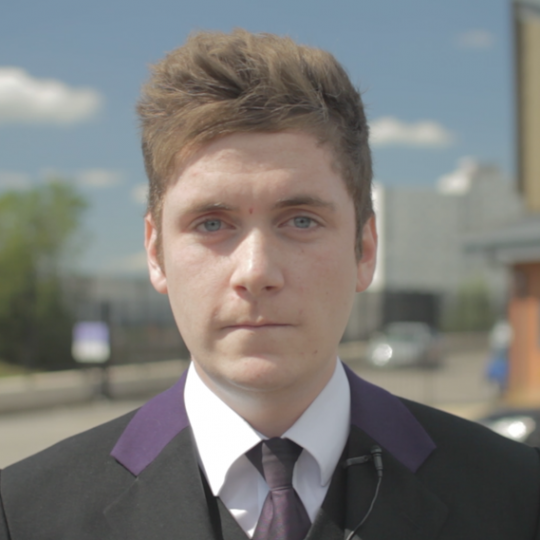 Daniel Smith, Apprentice, Co-Op Funeralcare