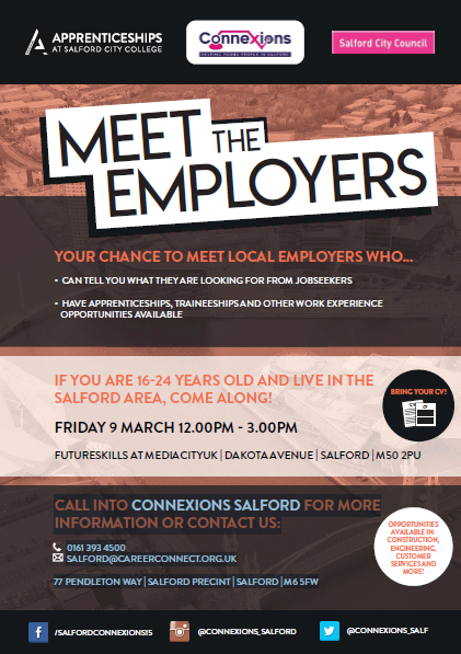 greater manchester chamber of commerce meet the team flyer