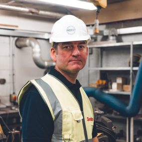 Photo of apprentice at Seddon