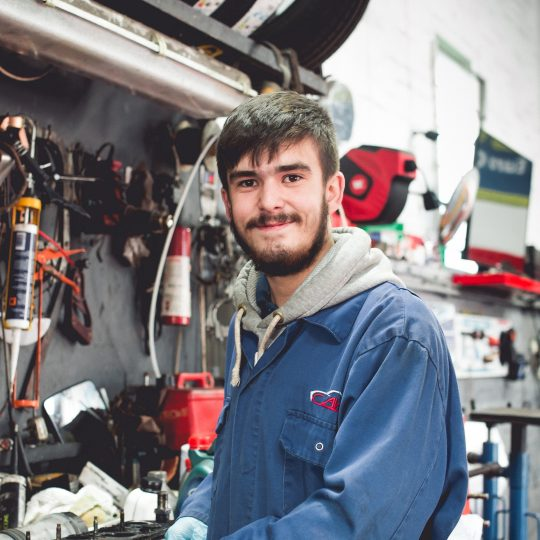 Photo of apprentice at Allied Vehicle Service