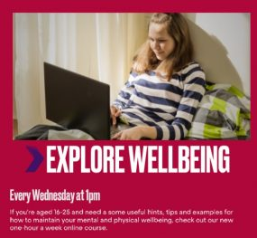 Princes Turst - Free Welbeing Course: Explore Wellbeing