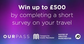 Win £500 by completing the Our Pass Survey