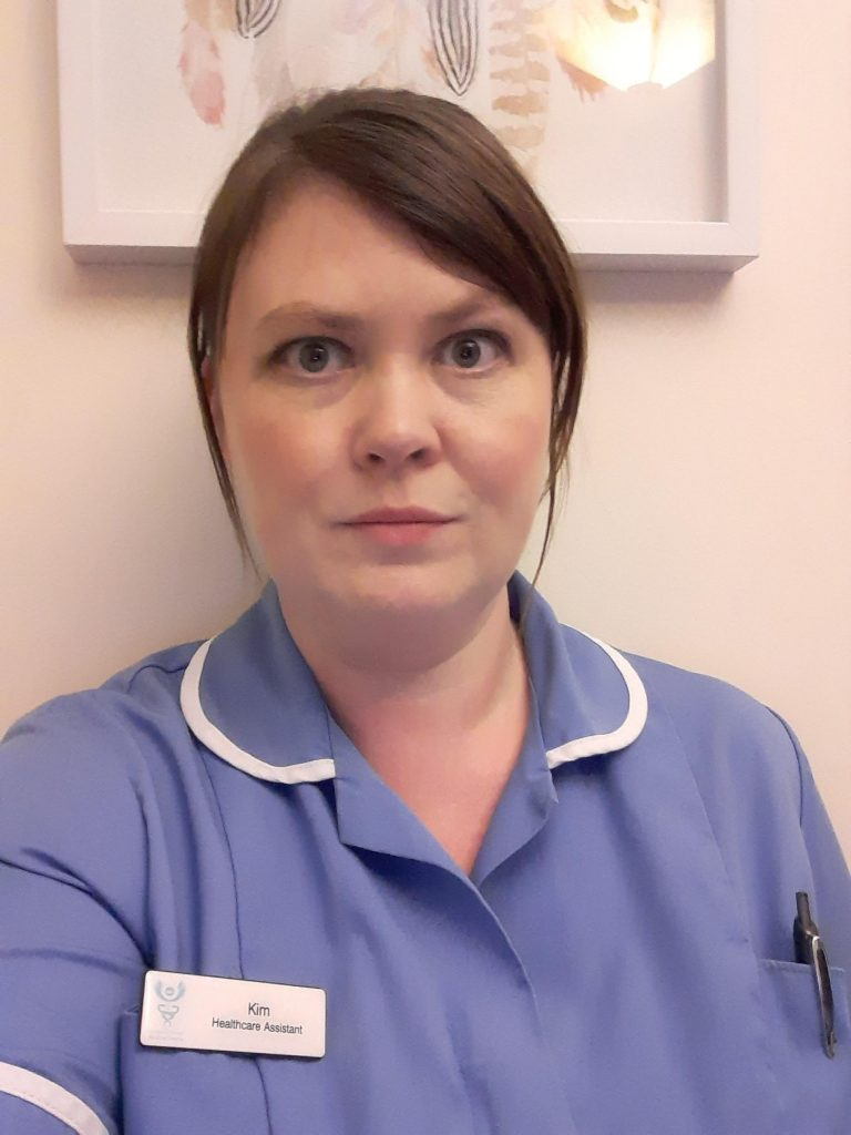 Photo of nursing Apprentice from Bury College